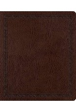 Crossway / Good News ESV Journaling Bible Mocha Bonded Leather (Mocha)