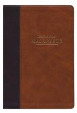 Vida NBLA Biblia de Estudio MacArthur, Leathersoft, Café (NASB MSB 2nd Edition Leathersoft Brown -Span)