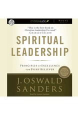 Hovel Audio Spiritual Leadership: Principles of Excellence for Every Believer (Audio CD)
