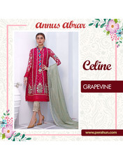 Annus Abrar Grapevine-3pc