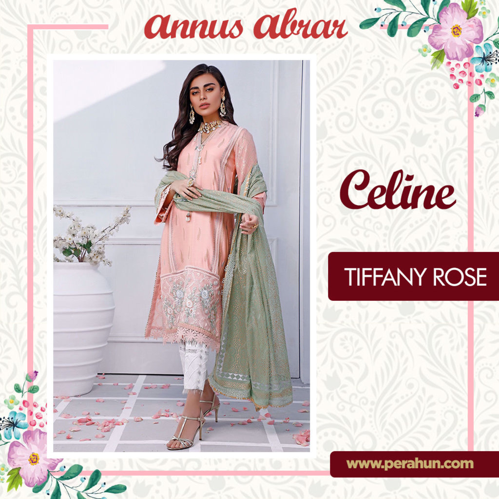 Annus Abrar Tiffany Rose-3pc