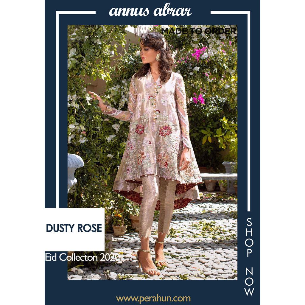 Annus Abrar Dusty Rose