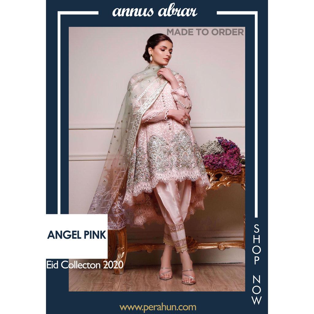Annus Abrar Angel Pink
