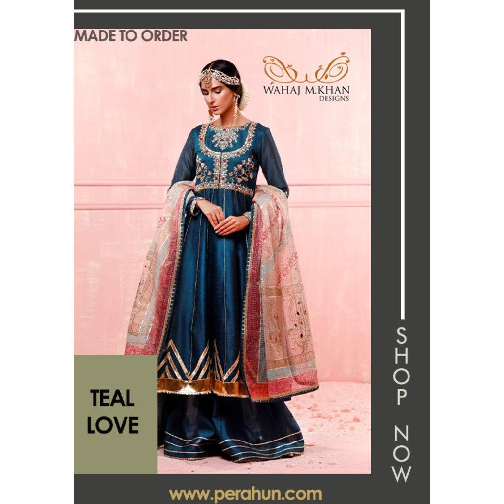 Wahaj M Khan Teal Love
