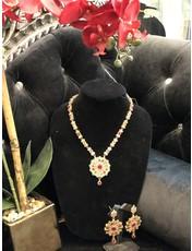 Perahun Long multicolor necklace set-23336012