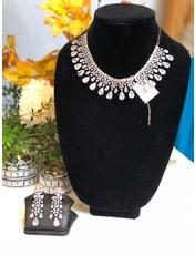 Perahun Silver necklace set-970003
