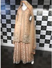 Perahun Peach jacket with Lehnga- PRF54