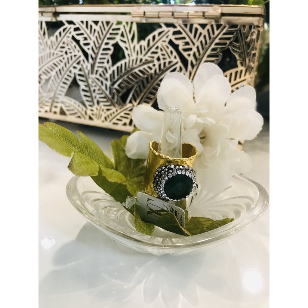 Perahun Turkish Wrap bronze ring