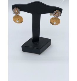 Nadia Chhotani Gold and silver egyptian earing - ER 2709