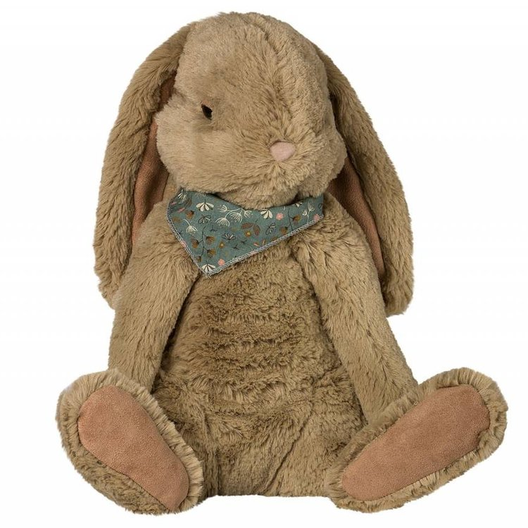 Maileg Extra Large Fluffy Brown Bunny