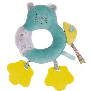 Moulin Roty Chacha Ring Rattle with Teethers