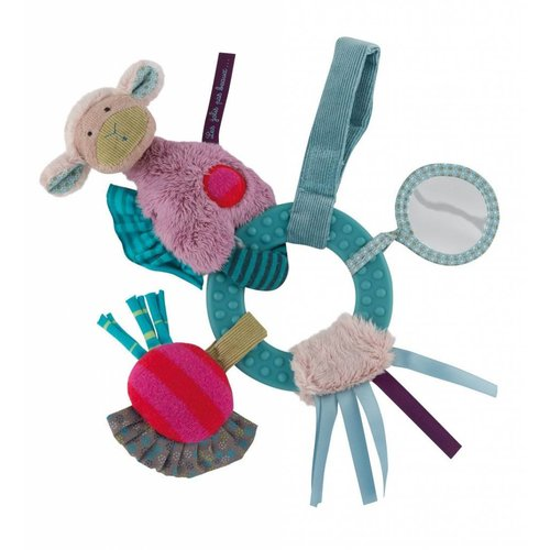 Moulin Roty Activity Ring Rattle - Les Jolis pas Beaux