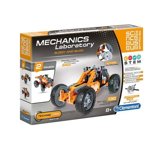 Clementoni Mechanics Laboratory-Buggy & Quad