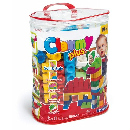 Clementoni Clemmy Plus - Bag 60 pcs