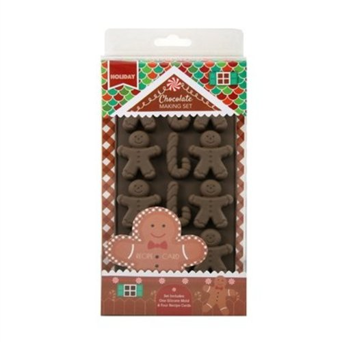 Handstand Kitchen Gingerbread Man Chocolate Molds