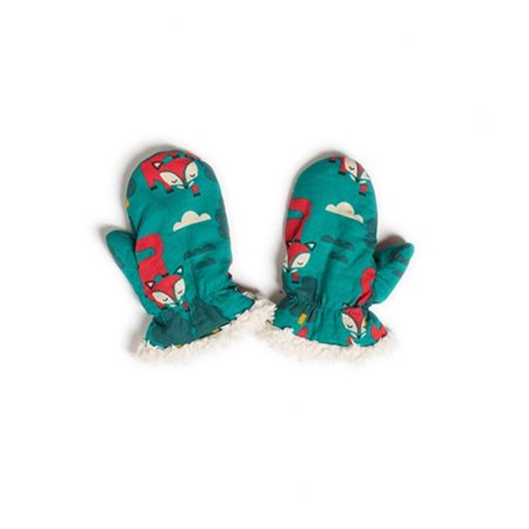 Little Green Radicals Organic Mittens