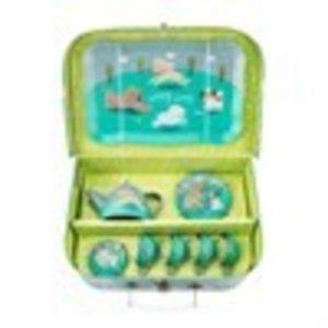 Sass & Belle Puppy Dog Playtime Picnic Box Tea Set