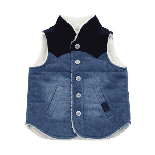 Bit'z Kids Reversible Denim Vest