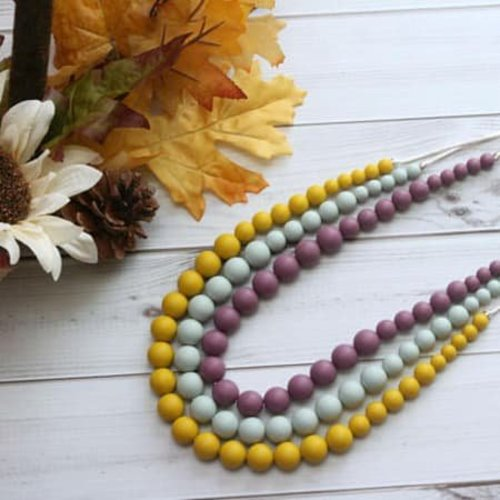 Getting Sew Crafty Ava Teething Necklace