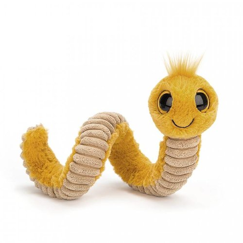 Jellycat Wiggly Worm Yellow