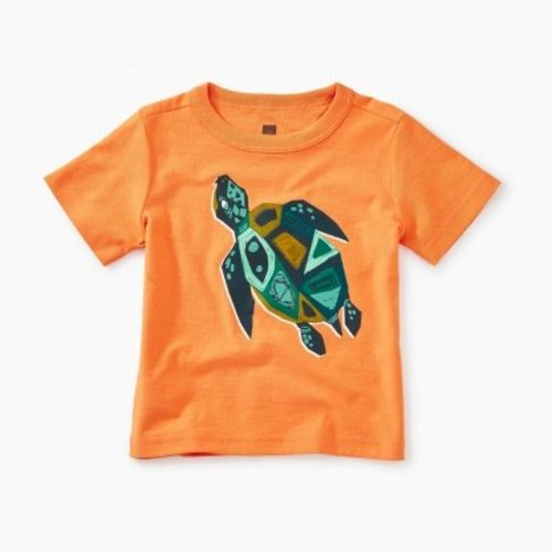 Tea Sacred Turtle Baby Graphic Tee