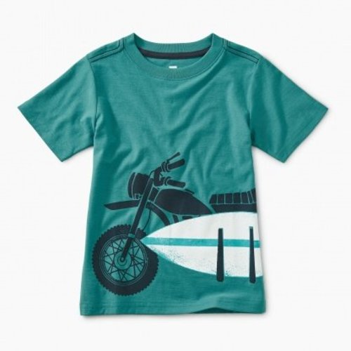Tea Moto Board Graphic Tee