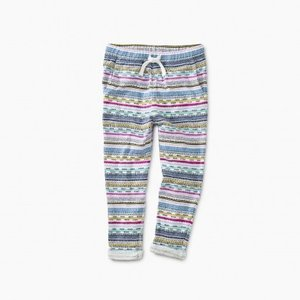 Tea Printed Knit Joggers