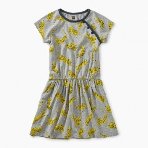 Tea Printed Raglan Dress