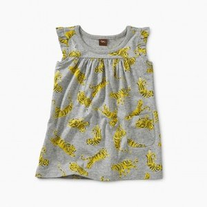 Tea Printed Mighty Mini Baby Dress