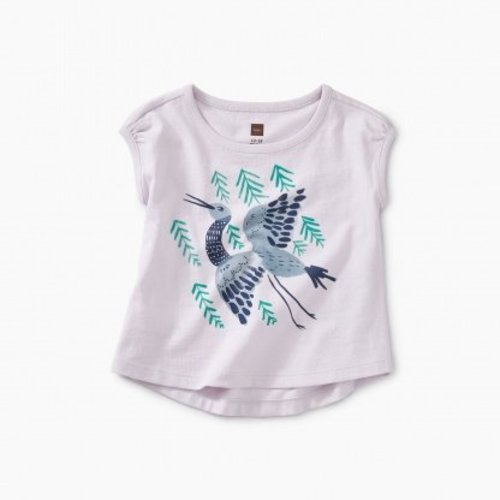 Tea Crane Baby Graphic Tee