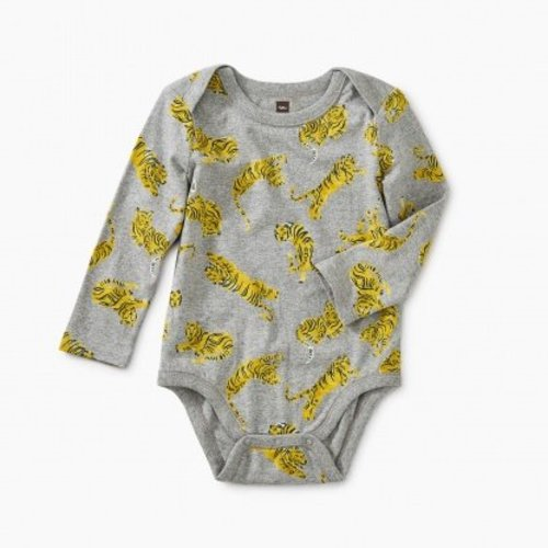 Tea Tiger Print Bodysuit