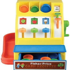 Schylling Fisher-Price Classic Cash Register