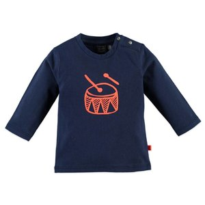 Baby Face L/S Drum T-Shirt