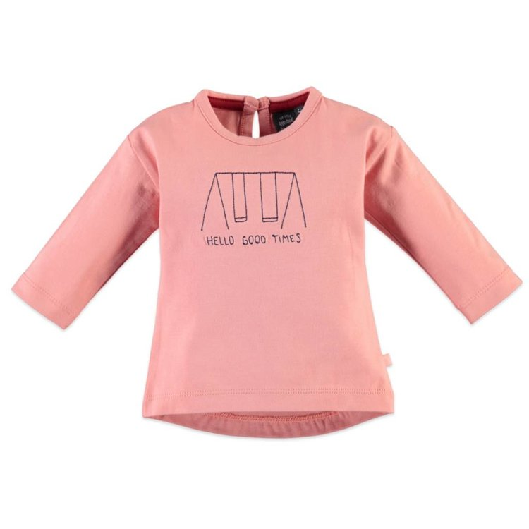 Baby Face L/S Hello Good Times T-Shirt