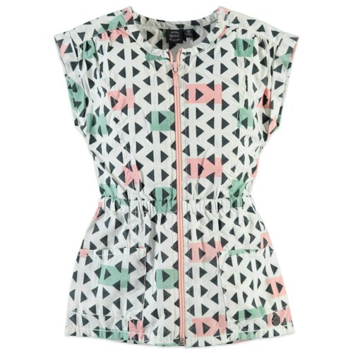 Baby Face Triangle Print Dress