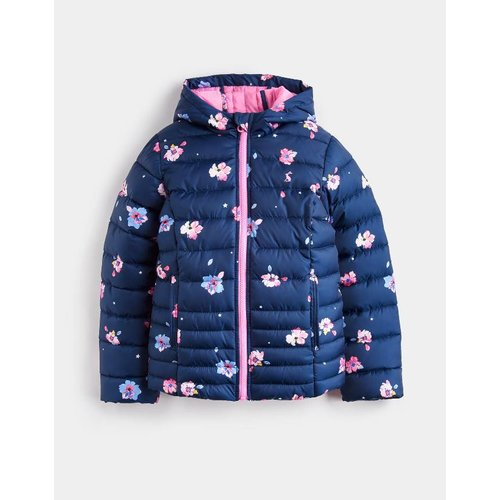 Joules Quilted Packable Coat