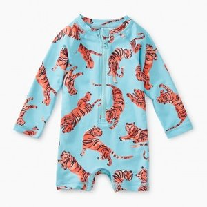 Tea Baby Shortie Rash Guard
