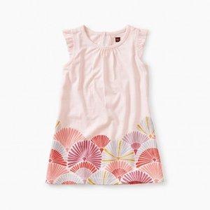 Tea Border Graphic Baby Dress