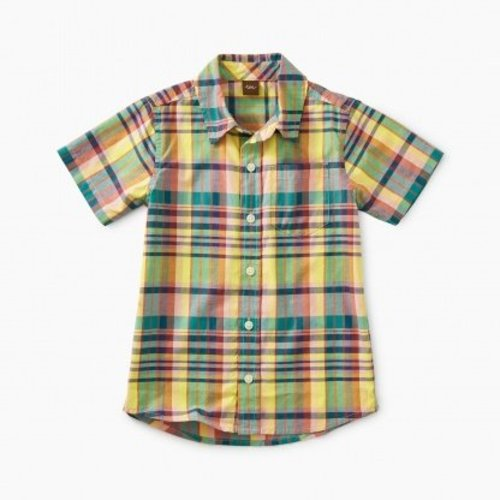 Tea Madras Woven Shirt