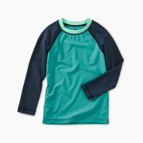 Tea Colorblock LS Rash Guard