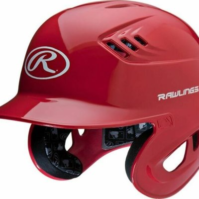 RAWLINGS RAWLINGS VELO CLEAR COAT BATTING HELMET