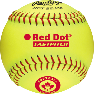 "RAWLINGS RAWLINGS RED DOT 12"" BASEBALLS PER DOZEN"