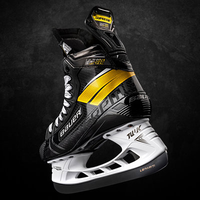 BAUER BAUER SUPREME ULTRASONIC INTERMEDIATE HOCKEY SKATES