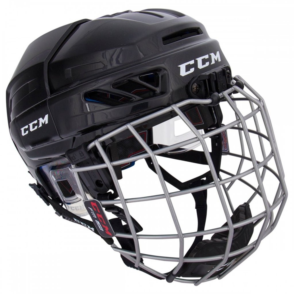 CCM CCM FITLITE 3DS YOUTH HOCKEY HELMET COMBO