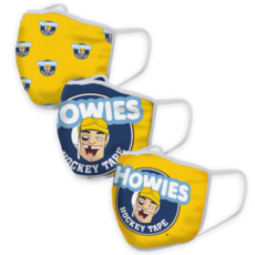 HOWIES HOWIES FACE MASKS 3 PACK