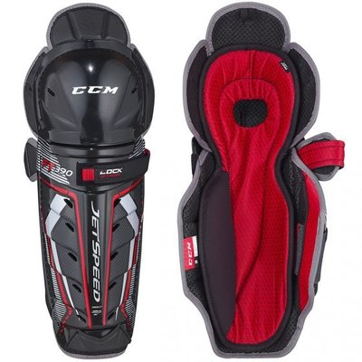 CCM CCM JETSPEED FT390 SENIOR SHINGUARDS