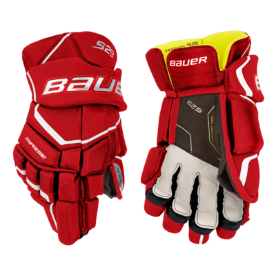 BAUER BAUER SUPREME S29 SENIOR HOCKEY GLOVES