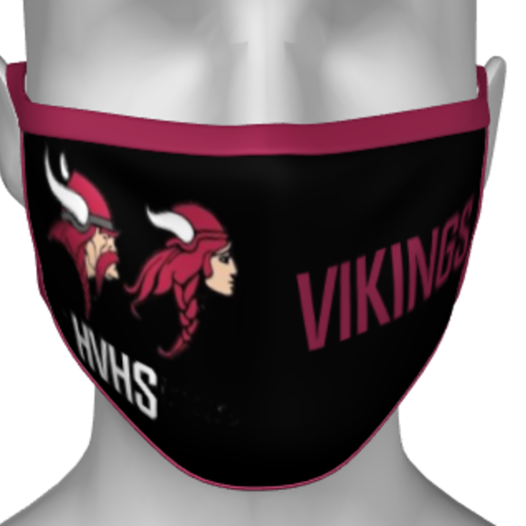 DOIRONS HARBOUR VIEW HIGH SCHOOL PPE FACE MASK