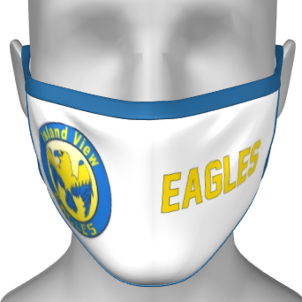 DOIRONS ISLAND VIEW  SCHOOL PPE FACE MASK