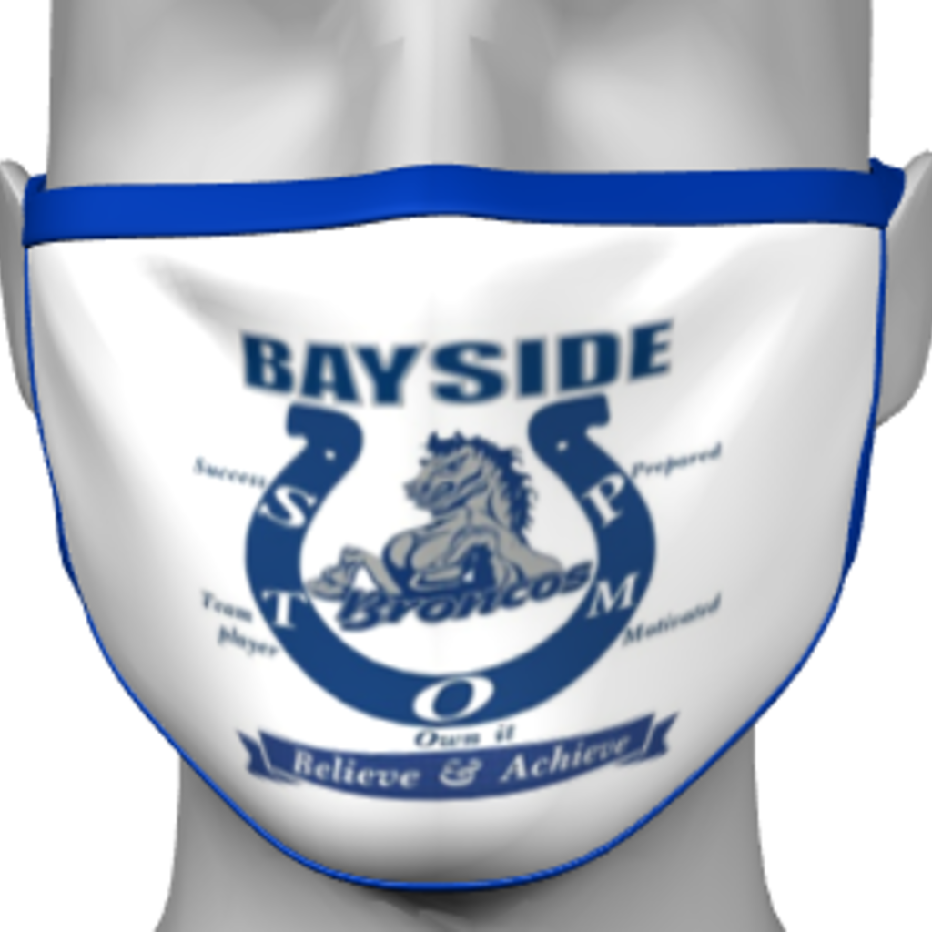 DOIRONS FUNDY HIGH  SCHOOL PPE FACE MASK